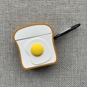 NWOT Egg Toast AirPod Case